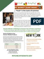 Senator Patty Ritchie 2016 Farmers Market Guide