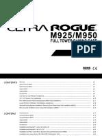Ultra Rogue M925-M950 User Manual