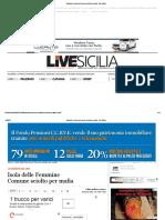 ISOLA DELLE FEMMINE 2012 9 NOVEMBRE SCIOLTO CONSIGLIO COMUNALE PORTOBELLO CUTINO IMPASTATO BOLOGNA BRUNO PIETRO POMIERO VASSALLO GIUSEPPE BRUNO GIOVANNI B.B.P.  snc  Live Sicilia