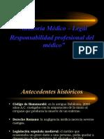 Aspectos Medico Legales de La Auditoria Medica