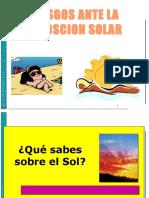 Riesgos Ante Exposicion Solar
