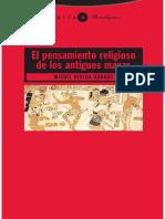 Rivera Dorado Miguel - El Pensamiento Religioso de Los Antiguos Mayas