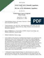 Alicia Rodriguez Narvaez v. Ariel Nazario, Etc., 895 F.2d 38, 1st Cir. (1990)