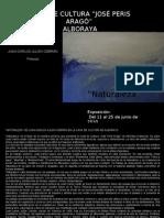 """Exposición en Casa de Cultura """"José Peris Aragó"""" de Alboraya"""