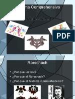 rorschach sistema comprehensivo