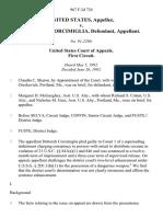 United States v. Deborah D. Corcimiglia, 967 F.2d 724, 1st Cir. (1992)