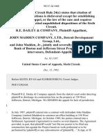 R.E. Dailey & Company v. John Madden Company, Ltd., Detroit Development Group, Ltd., and John Madden, Jr., Jointly and Severally, First National Bank of Boston and Jefferson Street Properties, Inc., Intervenors, 983 F.2d 1068, 1st Cir. (1992)