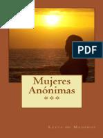 Mujeres Anonimas - Lucia de Mederos