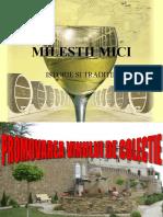 Milestii Mici - Promovarea vinurilor de colectie