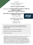 Donald Hogan v. Bangor and Aroostook Railroad Company, Donald Hogan v. Bangor and Aroostook Railroad Company, 61 F.3d 1034, 1st Cir. (1995)