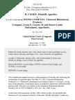 James H. Cooke v. Lynn Sand & Stone Company, Trimount Bituminous Products Company, Louis E. Guyott, Ii, and Stuart Lamb, 70 F.3d 201, 1st Cir. (1995)