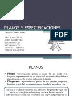 Planos y Especificaciones Sena