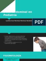 Dolor Abdominal en Pediatría