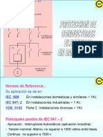 PROTECCION DE CABLES EN BAJA TENSION - IEC.ppt