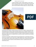 Regulagem Cavalete Violino _ Arte & Precisão