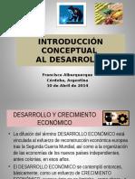 1. Introducción Conceptual Al Desarrollo 2014