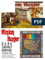 DC1 Minion Hunter (Boardgame) (2085857)