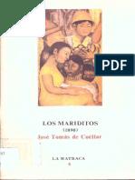 Los Mariditos. José Tomás de Cuéllar