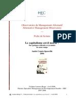 Le capitalisme est-il moral - HEC Paris