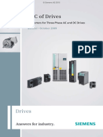 Converters for Three Phase AC and DC drives