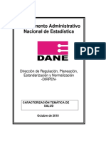 Caracterización TEmática Salud_DANE