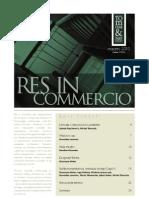 Res In Commercio 03/2010