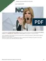"""03-06-16 Claudia Pavlovich entrega primera """"escuela al 100"""". -Entérate"""