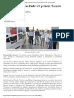 """03-06- 16 Entrega Gobernadora Pavlovich primera """"Escuela al 100"""".  -San Luis Digital"""