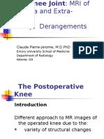 Knee Postoperative Lecture Dubai