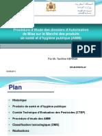Presentation Sante-Procedure AMM Produits Dhygiene Et Sante