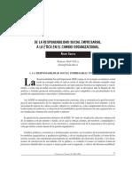 Guerra Alexei. de La Responsabilidad Social Empresarial a La Etica en El Cambio Organizacional