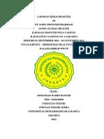 LAPORAN KERJA PRAKTEK PT SOHO INDUSTRI FARMASI MUHAMAD WAHID HASYIM 2010430058 TEKNIK KIMIA oke.doc