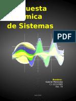 RespuestaDinamica de Sistemas Gabriel Melendez