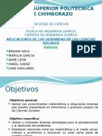 Aplicaciones de la Diferencial en Ciencias Sociales-