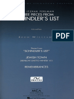 Three pieces from Schindler's List (violin y piano)