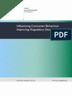 Influencing Consumer Behaviour