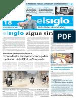 Edicion Impresa El Siglo 18-06-2016