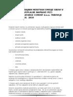 poročilo april 2010