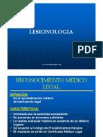 Lesionologia - Medicina Forense