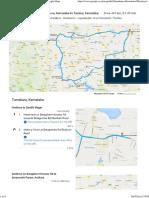 Karnataka Trip plan