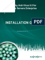 16337 Kav8.0 Wsee Install Guide En