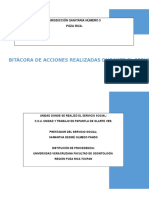 Bitacora Servicio Social