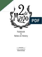 2 de Mayo Rulebook English