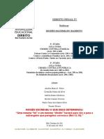 ATPS - D Penal IV - Etapas 3 e 4 - Anhanguera - Prof Moises Maximiano - 160523