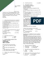 Contoh Soal Bahasa Inggris VIII
