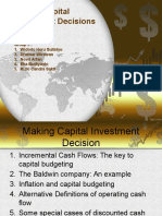 Making Capital Investment Decisions 6.1-6.2-6.3-6.4-6.5
