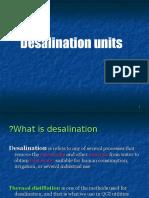 Desalination Unit