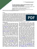 310711 Total Bakteri Asam Laktat, PH, Keasaman, Citarasa Dan Kesukaan Yogurt Drink Dengan Penambahan Ekstrak Buah Belimbing_0