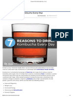 7 Reasons to Drink Kombucha Every Day - Dr