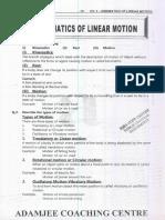 kinametics-of-linear-motion